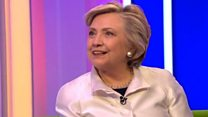 Hillary Clinton speaks Welsh on One Show