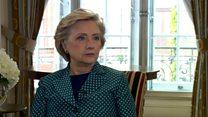 Clinton on Weinstein: 'I was appalled'
