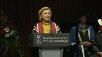 Hillary Clinton's Welsh roots 'delight'