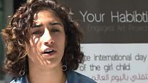 """""""لست حبيبتك"""" لمحاربة التحرش في رام الله"""