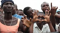 Nigeria: See as prisoners jollificate for concert