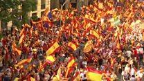 ضرب الاجل دولت اسپانیا به رهبر کاتالونیا
