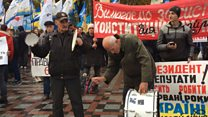 Мітинг біля ВР: вимоги учасників  і кордони силовиків