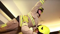 Kent firefighters in Dirty Dancing parody