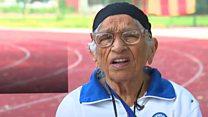 100 साल की उम्र में रेस दौड़ने वाली भारतीय महिला