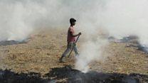 उत्तर भारतातला 'धूर' दिल्लीच्या दारात