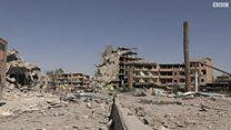 قوات سوريا الديمقراطية تسيطر بالكامل على الرقة