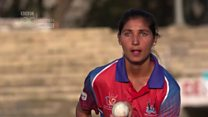 'It's not a sin for women to play cricket'