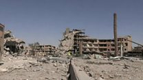 Inside Raqqa after IS pushed out