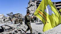 La ville de Raqqa après l'offensive des Forces démocratiques syriennes
