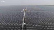Trại pin mặt trời 'nổi' lớn nhất thế giới