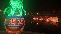 दीपों से सजी अयोध्या नगरी