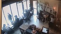 Laptop snatched from cafe