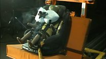 Car seat with inbuilt airbag launched