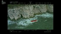 Lifeboat rescues 'tombstoning' man