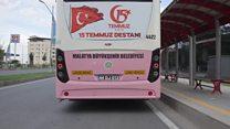 Türkiyə: Hakim partiya yalnız qadınları daşıyan avtobuslar təşkil edib