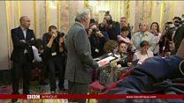 En Espagne, pprocédure pour suspendre l'autonomie de la Catalogne.