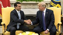 Trump gives Puerto Rico effort top marks