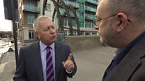 Ian Lavery confronted by Newsnight