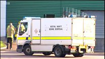 Bomb disposal called to Amazon warehouse
