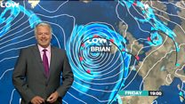 Derek's Storm Brian Wales weather warning