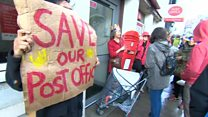 Protest to keep post office open in St Leonards