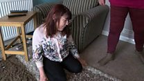 A disabled woman says she's housebound after her funding was cut.