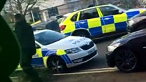 Police attend 'ongoing incident' in Nuneaton