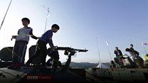 Güney Kore'den askeri gövde gösterisi