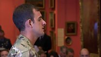 Soldier says he was sent to war zone suffering from PTSD