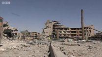 Burburka baaxadda leh ee soo gaaray magaalada Raqqa