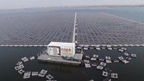 yüzen güneş paneli