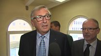 Juncker: May was in good shape, not tired