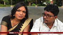 အိန္ဒိယရဲ့ ပထမဆုံး လိင်ပြောင်းသူတို့ လက်ထပ်