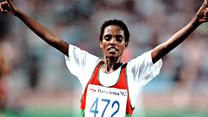 Africa's first black female Olympic champion