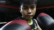 Thaïlande: boxeuse malgré tout