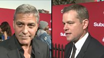 Clooney and Damon speak out over Weinstein