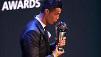 Ronaldo, meilleur joueur du monde en 2017