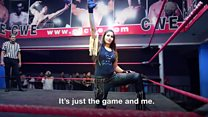 India's first woman WWE wrestler