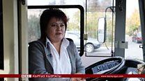 Троллейбус башкарган айым