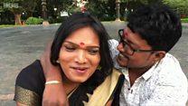 คู่แต่งงานข้ามเพศคู่แรกในอินเดีย