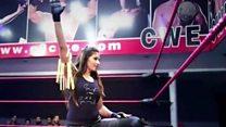भारताची पहिली महिला WWE कुस्तीगीर