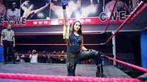 أول هندية تشارك في منافسات WWE الدولية للمصارعة