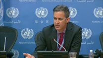 UN 'concerns' over BBC staff treatment