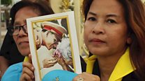 Thousands gather for Thai king's funeral