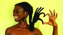 Как сделать произведение искусства из собственных волос?