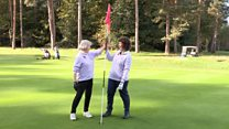 Golfers hit two hole in ones in a row