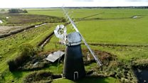 Windmill mapped with laser technology