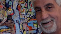 Syrian artist 'very happy' with UK success
