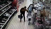Ten-second thief strikes in Aldi